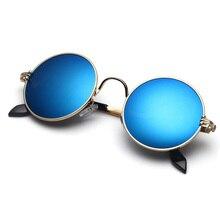 Raydem New round sunglasses sunglasses men retro women sunglasses