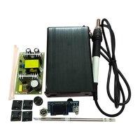 Nuevo OLED Digital T12 estaciones de soldadura DIY kits para DIY segundos estaño soldadores eléctricos automática Temperatura de reposo