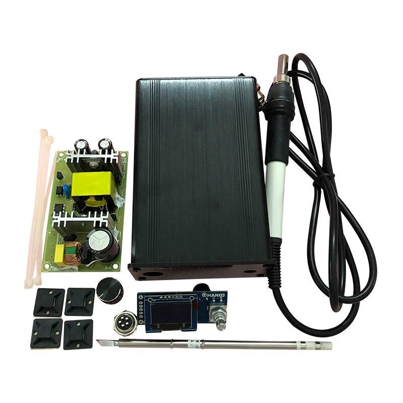 OLED ایستگاه های لحیم کاری دیجیتال OLED کیت های DIY برای ثانیه ثانیه قلع الکتریکی لحیم کاری الکتریکی از خواب بیدار شده از خواب خودکار