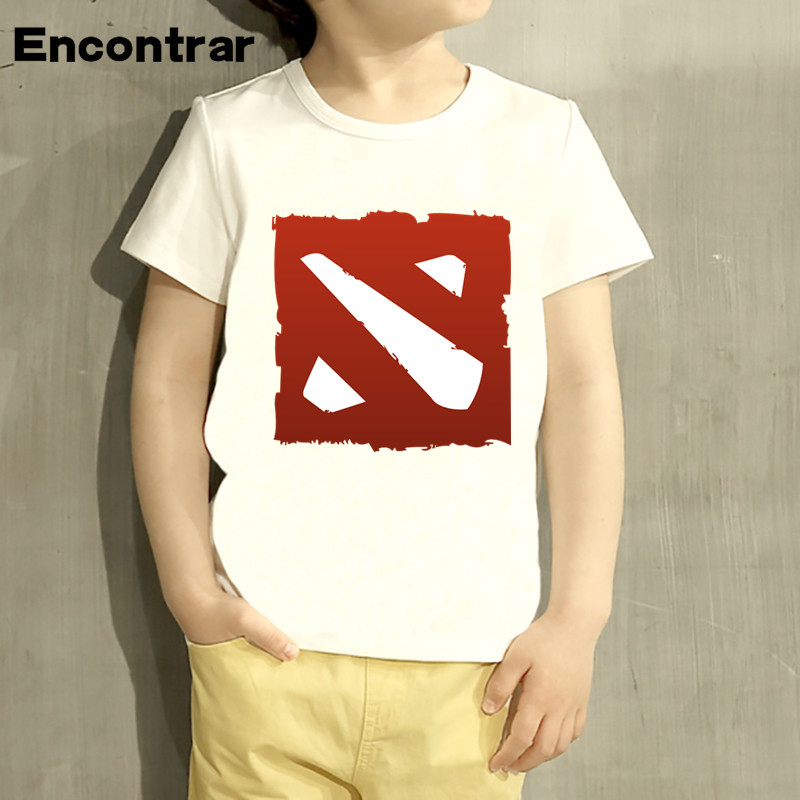 Childrens Game Dota 2 IT5 Natus Vincere Design Baby Boys/Girl T Shirt Kids Funny Short Sleeve Tops Children Cute T-Shirt,HKP2240