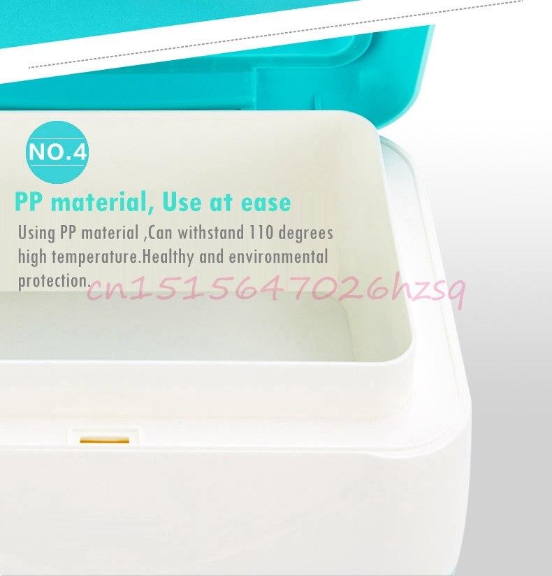 DMWD детские салфетки нагреватель термостат отопление машины Wipes детские влажные салфетки коробка теплоизоляция увлажнитель