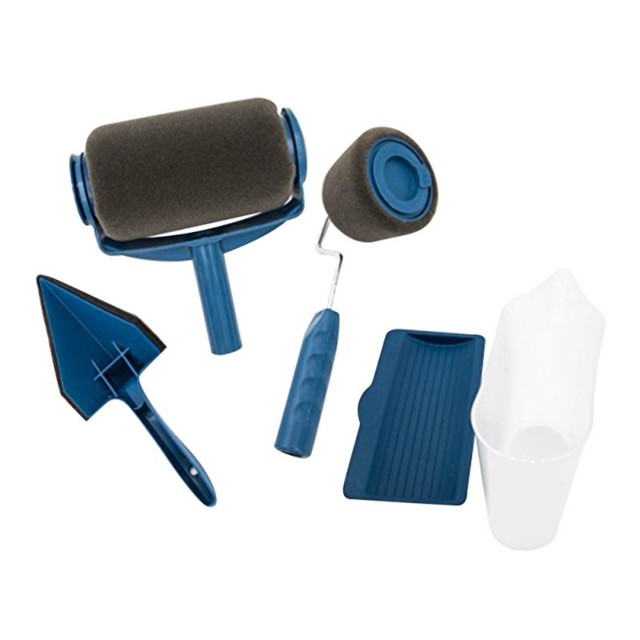 brush paint runner pro roller brush handle tool flocked. Black Bedroom Furniture Sets. Home Design Ideas