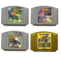 SONGFINN 7 in 1 or 18 in 1 64 bit USA Version Video Game Cartridge Play 8 bit Classic Game on 64 bit Console English Language