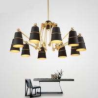 After The Modern Creative Designer Personality Art Spider Chandelier Light Luxury Villa Penthouse Floor Dining Room