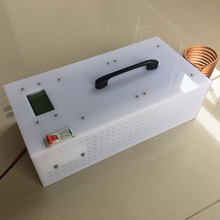 1.8KW/2.5KW Induction Heater High Frequency Induction Heating Machine Metal Smelting Furnace + Crucible+power supply