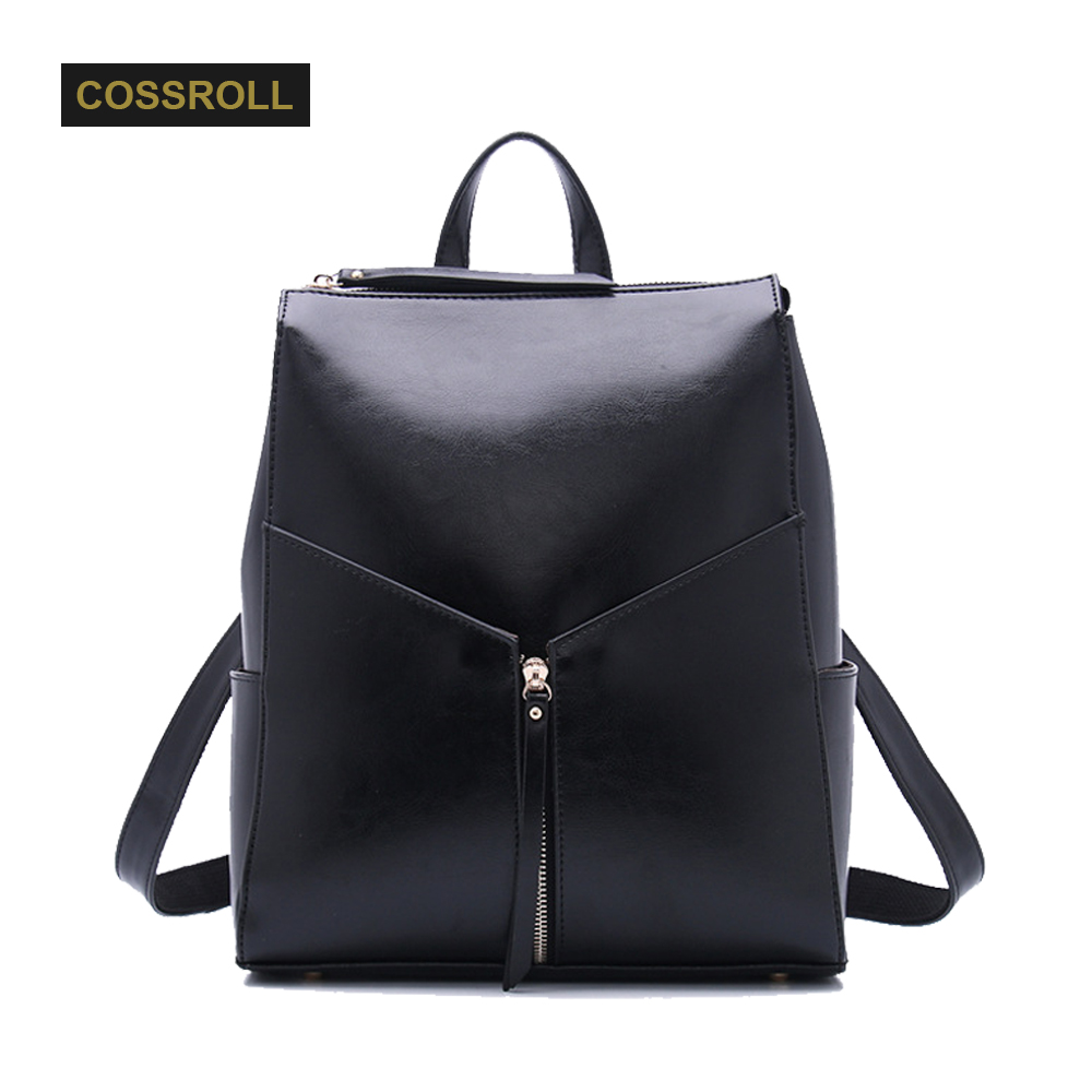 Backpack Natural Soft Real Leather Backpacks Genuine First Layer Cow Leather Top Layer Cowhide Women Backpack School Bags zency fashion leather backpack real natural genuine leather women backpacks ladies girl school bag top layer cowhide mochila
