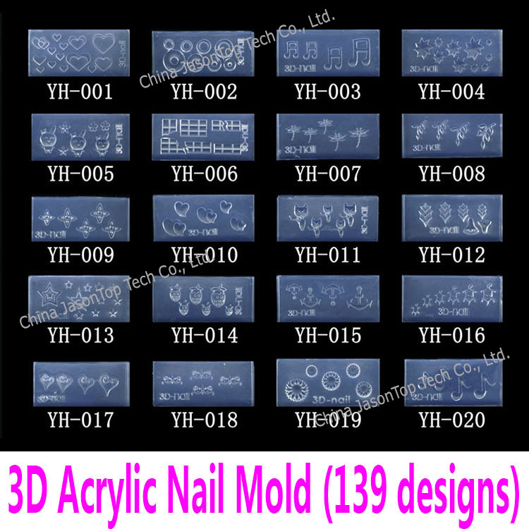 Buy 3d acrylic nail art molds and get free shipping on AliExpress.com