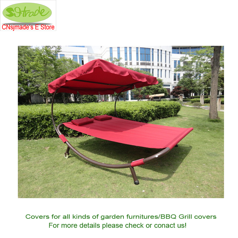 "Canopy Replacement 184x121cm/72.44x47.64"",2 Seater Hammock Canopy,Without Frame Waterproofed Canopy Replacement.Wine Color"