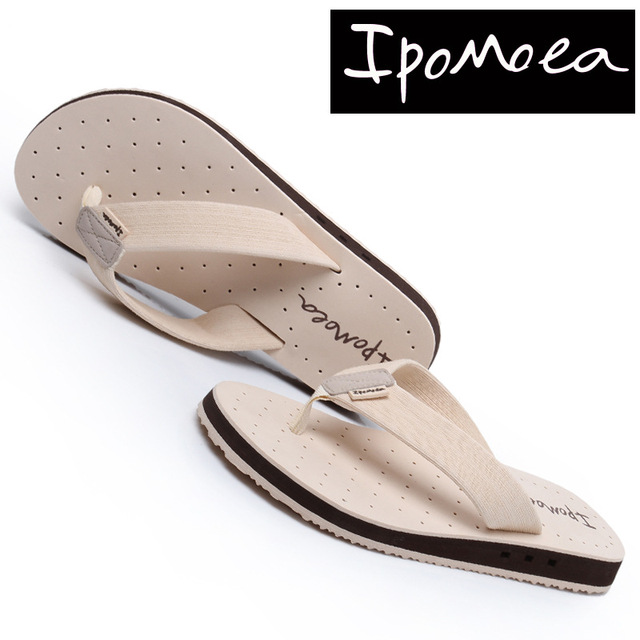 Ipomoea Brand 2017 Summer Cool Men Flip Flops British Style Sandals Comfortable Beach Slipper Platform Slides Sandalia Masculina