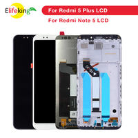 Original For Xiaomi Redmi 5 Plus LCD Display With Frame 10 Touch Screen Redmi5 Plus LCD Digitizer Replacement Repair Spare Parts
