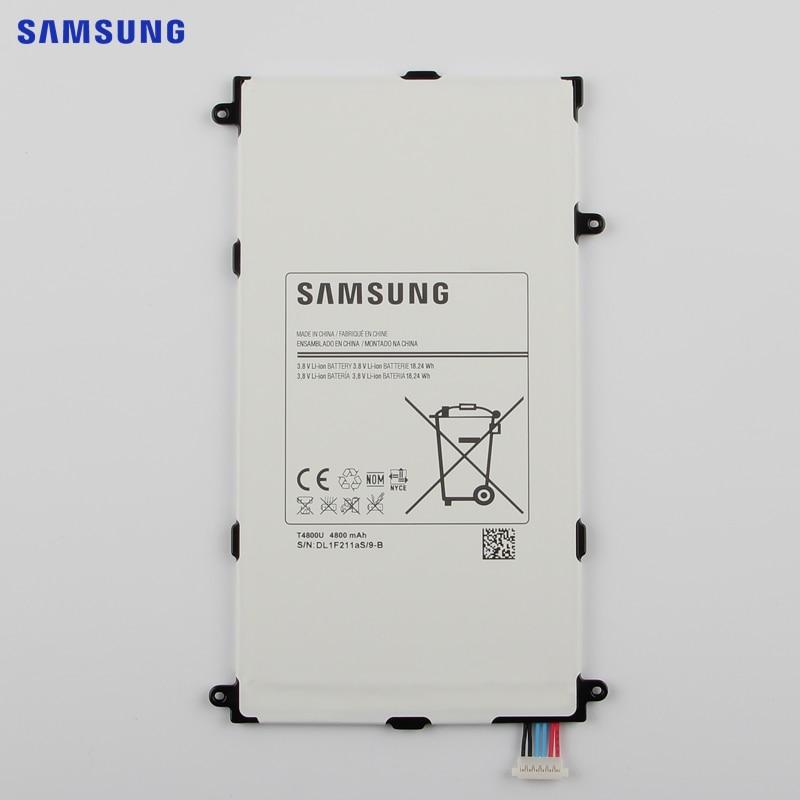 SAMSUNG Original Ersatz Batterie T4800E Für Samsung Galaxy Tab Pro 8,4 in SM-T321 T325 T320 T321 Tablet Batterie 4800 mah
