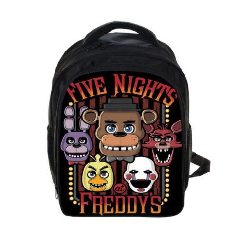 13 дюймов детей пять ночей в Freddys Рюкзаки аниме FNAF рюкзак Обувь для мальчиков Обувь для девочек Школьные ранцы детские книги сумка Ежедневно ...