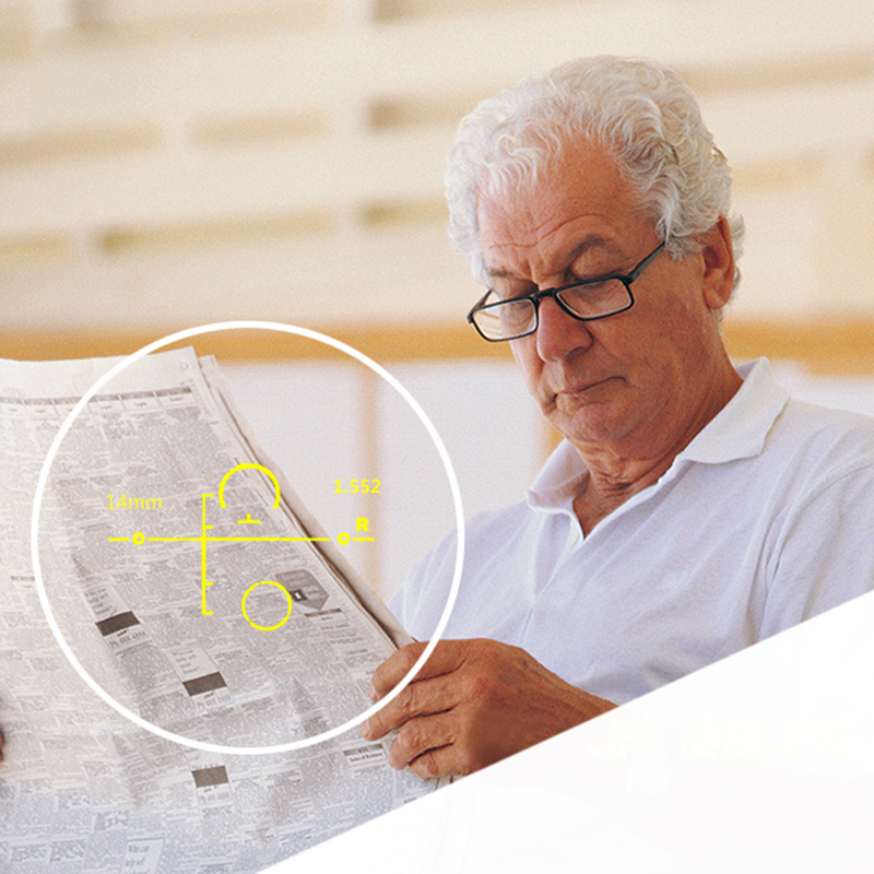 Progressive Korrektur Rezept Vision Objektiv Optische Für Digitale Freies Linsen 1 form Frauen Neue 61 Männer Und wXfw1