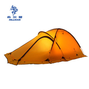 Image 3 - 20D silicone nylon fiber Tent 4 season 2 3 persons camping tents ultralight tent for high altitude low temperture winter tent