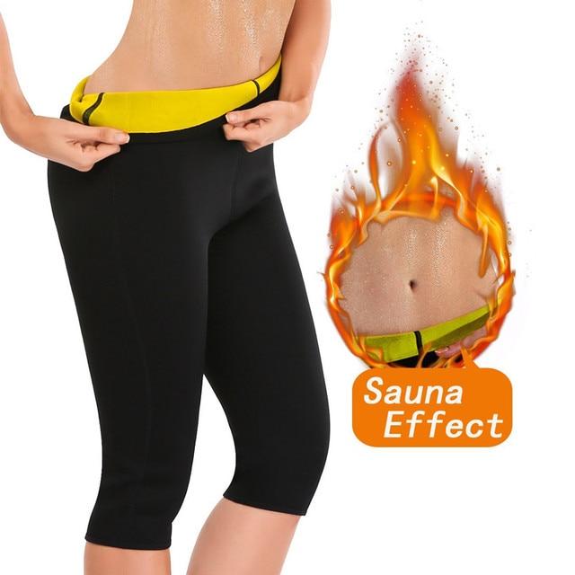 f480db0f5b NINGMI Slimming Pants Women Neoprene Sauna Suit Control Panties Weight Loss  Hot Sweat Waist Trainer Body Shaper Shorts Keep Warm