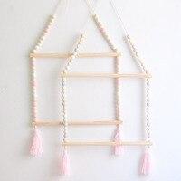 Скандинавское украшение для малышей, подвесное украшение, вешалка для одежды для малышей, подарок, детская игрушка для детской комнаты, Дек...