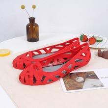 Melissa Hollow Parent-child Shoes Women Jelly Sandals 2019 New 22.5-24.5cm