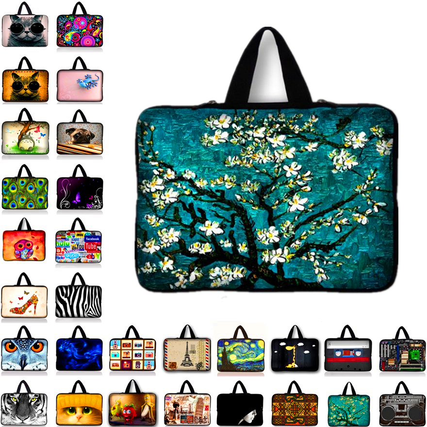 Neoprene Soft Laptop Sleeve Bag Cases Cover Pouch Protector For 7 7.7 7.9 8.1 inch Tablet Netbook Ebook Computer PC