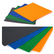 1PC Big Blocks Base Plate 34 34 Dots 27 27cm Baseplate Compatible with figures building Bricks