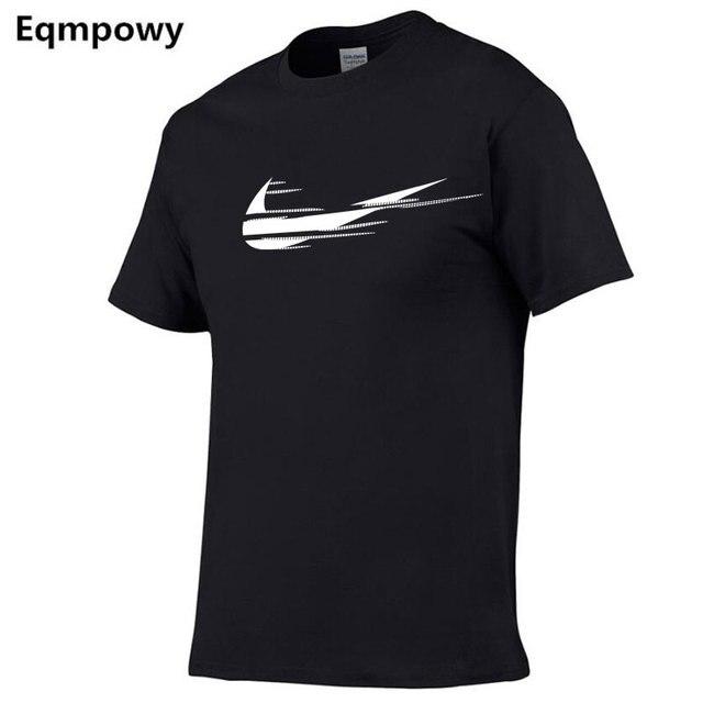 2018 Новые поступления повседневные мужские футболки человек просто сломать 3d принт мужские футболки модные на заказ Графические футболки японский человек футболка