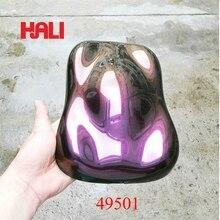 Поставка качественного суперпигмента Хамелеона, 3 лампочки, цветной флип порошок слюды, 1 пакет = 1 кг 49501 золото/красный/фиолетовый