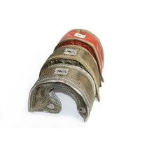 Cobertura do turbocompressor de garrett da cobertura térmica do turbocompressor t3 com malha de aço inoxidável para t2 t25 t28 gt30, turbocompressor t35