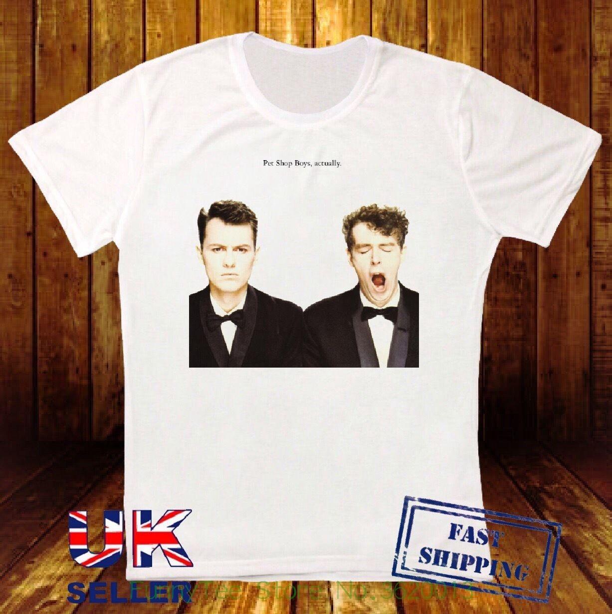 Pet Shop Boys En Realidad Electr Nica Pop Retro Hipster Camiseta Unisex 746