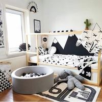 Nordic Kids Foldable Ocean Ball Pit Pool Kids Game Play Tent House For Baby Kids Home Decor Pool Modern Nursery Decor Kids Toy