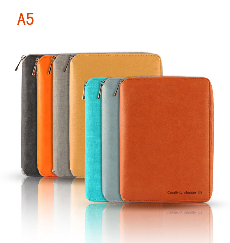 20~27Day Delivery++ A5 A6 Leather Binder Notebook Spiral