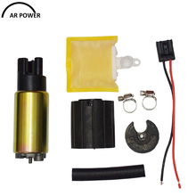 New Intank EFI Fuel Pump with strainer for Volvo C70 S70 V70 1997-2006 1998 1999 2000 2001 2002 2003 2004 2005 with install kit