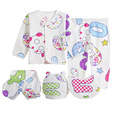 (5pcs/set) Newborn ,0-3M 100% Cotton Baby Clothing Set Brand Baby Boy/Girl Kids Clothes Cartoon Underwear