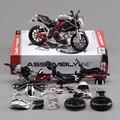 Мода детей подарок на день рождения DIY образовательные игрушки 1:12 новое металла сборки модель мотоцикла игрушка