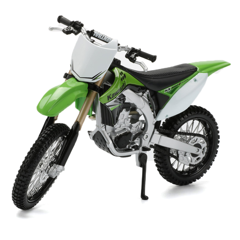 Maisto Kawasaki 1:12 Motorcycle Toy Emulation KX 450F Motorbike Model Collectible Car Toy Kids Toys Brinquedos Christmas Gifts