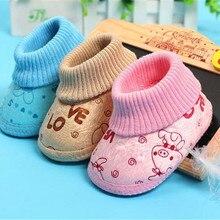 Детская обувь для новорожденных; детская хлопковая обувь; обувь с мягкой подошвой; милый подарок для маленьких S-2
