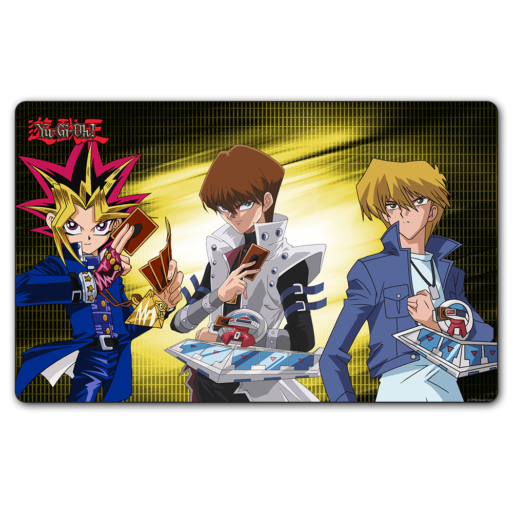 (YGO #40 Playmat) 35X60CM 5DS YU-GI-OH Youxiwang Play Mat Board Games YGO Card Games Table Pad with Free Gift Bag
