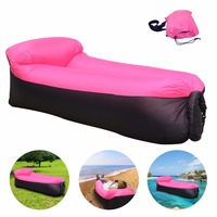 Sleeping Bag Inflatable Sofa Air Bed Lounger Chair Sleeping Bag Mattress Seat Couch Camping