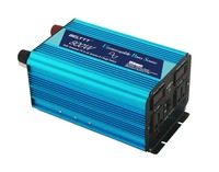 800w dc 24v to ac 220v pure sine wave ups inverter with battery changer and LED display