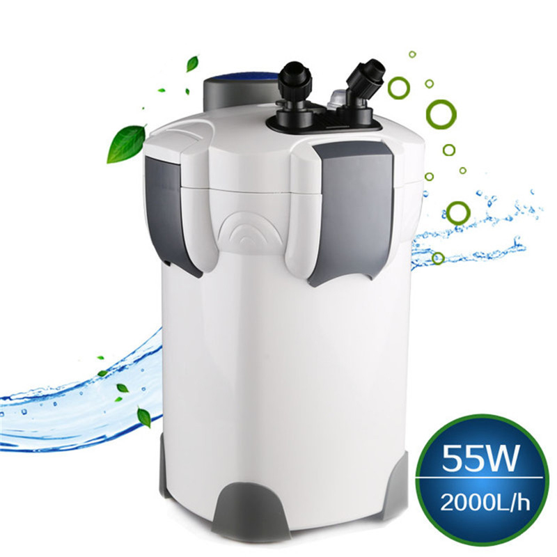 NCFAQUA SUNSUN HW 304 4 Stage Aquarium External Canister Filter 2000L/h Fish Tank Filter Pump Up to 150 Gallon