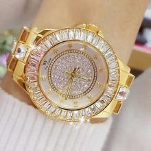 Diamond Watches Women Top Luxury Brand 2018 Stylish Gold Watch Womens Stainless Steel Wrist For Woman Bayan Kol Saati 2019