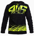 Moto GP Valentino Rossi VR46 Field Edition HOODIE BLACK HOODIE VRFORTYSIX CLAW CAMP CAMO