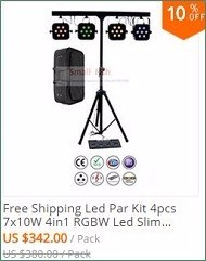 Newest Led Par Light 12X12W RGBW 4IN1 LED Flat Par Cans Disco Dj Lamp Stage Lights Luces Discoteca Laser Beam Luz de Projector