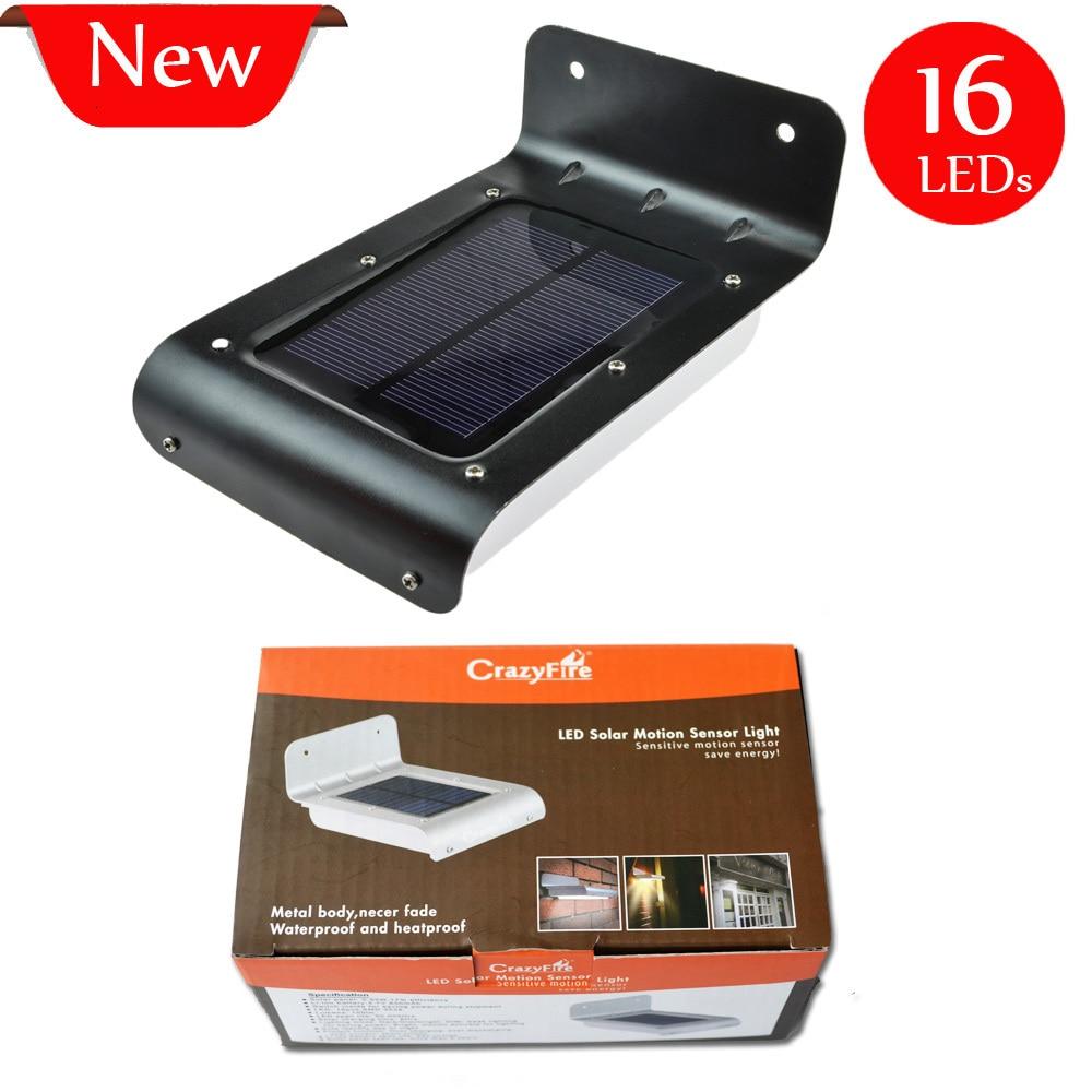 Best price 16xleds solar motion sensor garden light - Led exterior motion detector lights ...