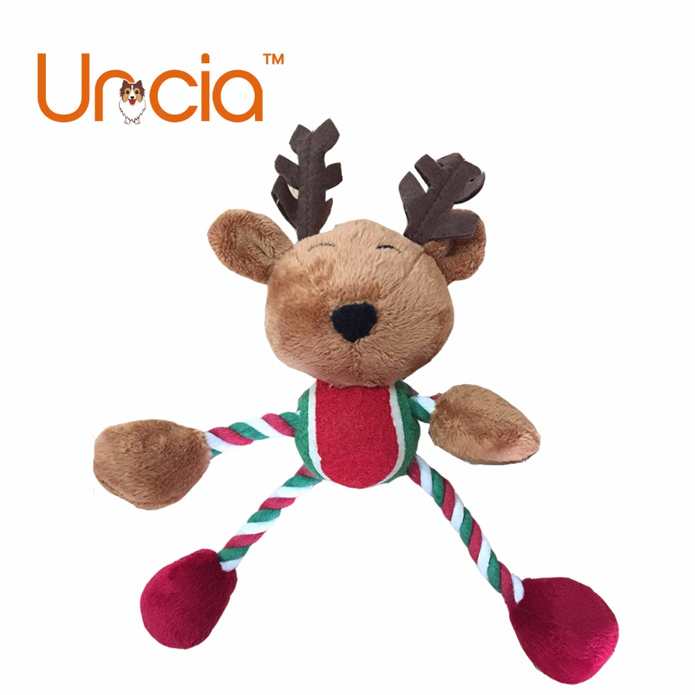 Aliexpress Buy Christmas Elk Dog Toy For Small And