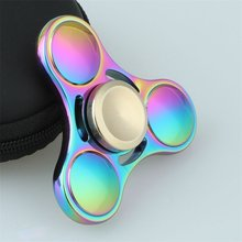Fidget Spinner Hand Top Spinners Glow in Dark Light EDC Figet Spiner Batman Finger Cube Stress Relief Toys(China)