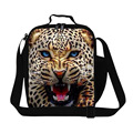 Clear leopard lunch bags food bags for teens boys school,Cool mens work insulated lunch bags stylish thermal bag with strap