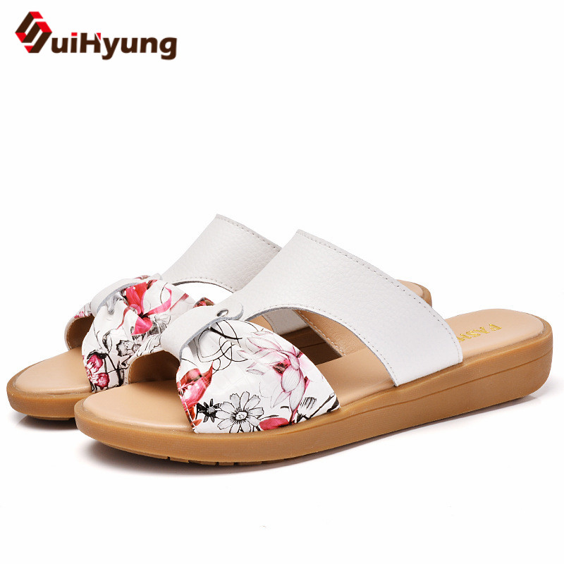 Suihyung Women Summer Flax Slippers Flats Colored Cross Belt Casual Home Slippers Flip Flops Female Indoor Shoes Woman Sandals 2017 new home slippers spring summer indoor shoes refreshing linen flax flats home slippers