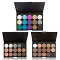 15 Colors Pro Makeup Eyeshadow Palette Shimmer Matte Eyeshadow Cosmetics Set Earth Color Eye Shadow Make Up Nude Eye Shadow