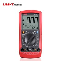 UNI T UT58C General Digital Multimeters Full Icon LCD Display Temperature Frequency Capacitance Diode Transistor AC/DC Tester
