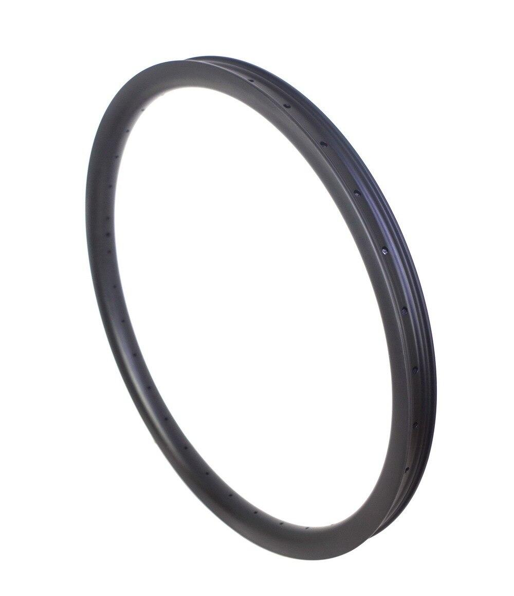 Neu DH Fahrradfelge Drahtreifen Breite 40mm 16-32 Loch Carbon MTB - Radfahren - Foto 4