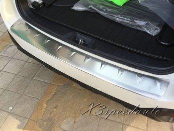 Di alta Qualità In Acciaio Inox AL di FUORI Paraurti Posteriore Davanzale Del Portello Del Piatto Dello Scuff Per Subaru Outback 2015-2018
